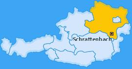 Karte von Schrattenbach
