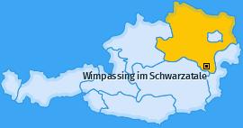 Karte von Wimpassing im Schwarzatale