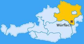 Karte von Würflach