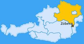 Karte von Zöbern