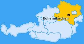 Karte von Böheimkirchen