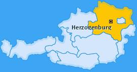 Karte von Herzogenburg