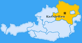 Karte von Karlstetten