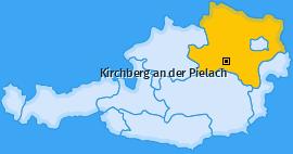 Karte von Kirchberg an der Pielach