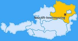 Karte von Neustift-Innermanzing