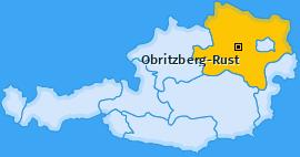Karte von Obritzberg-Rust