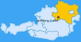 Karte von Gresten-Land