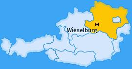 Karte von Wieselburg