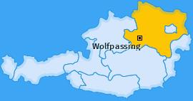 Karte von Wolfpassing