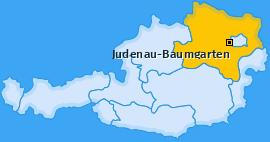 Karte von Judenau-Baumgarten