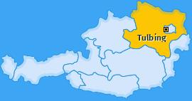 Karte von Tulbing