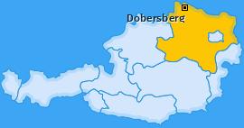 Karte von Dobersberg