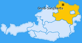 Karte von Groß-Siegharts