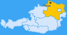 Karte von Thaya