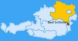 Karte von Bad Schönau