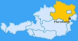 Karte von Ebenfurth
