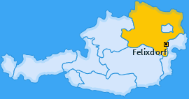 Karte von Felixdorf