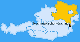 Karte von Hochneukirchen-Gschaidt