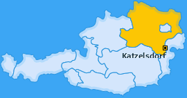 Karte von Katzelsdorf