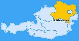 Karte von Lichtenegg