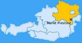 Karte von Markt Piesting