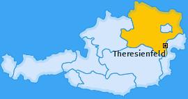 Karte von Theresienfeld
