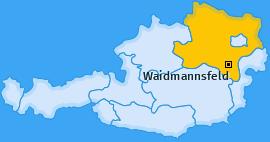 Karte von Waidmannsfeld