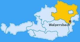 Karte von Walpersbach