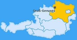 Karte von Groß-Gerungs