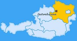 Karte von Gutenbrunn