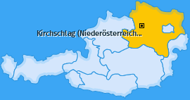 Karte von Kirchschlag (Niederösterreich)