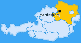 Karte von Martinsberg