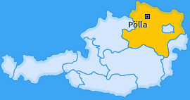 Karte von Pölla