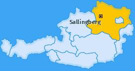 Karte von Sallingberg
