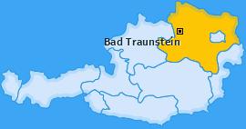Karte von Bad Traunstein