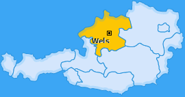 Karte Unterleithen Wels