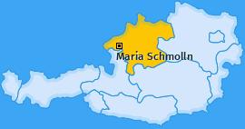 Karte von Maria Schmolln