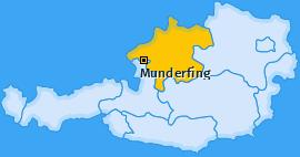 Karte von Munderfing