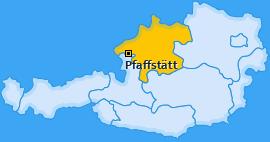 Karte von Pfaffstätt