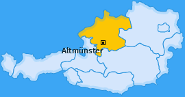 Karte Eben Altmünster