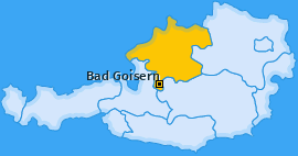 Karte von Bad Goisern