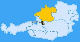 Karte von Hallstatt