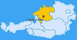 Karte von Laakirchen