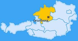 Karte von Grünburg