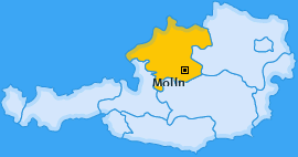 Karte von Molln