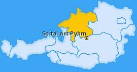 Karte von Spital am Pyhrn