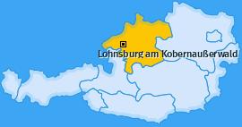 Karte von Lohnsburg am Kobernaußerwald