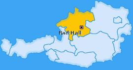 Karte von Bad Hall