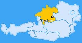 Karte von Garsten