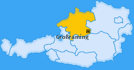 Karte von Großraming